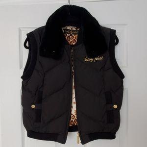 Baby Phat Puffer Vest EUC